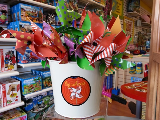 Spring break at Kazoodles is more fun than a bucket of pinwheels. That's a lot of fun!