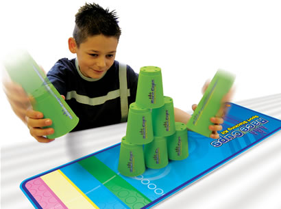 Hone your Speed Stack skills, then challenge a friend!
