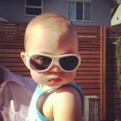 A pair of Babiators sunglasses brings no promise of this much 'tude. (via Babiators)