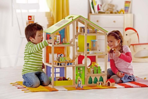 The Happy Villa dollhouse by Hape Toys is a great example of a toy with long-lasting play value.
