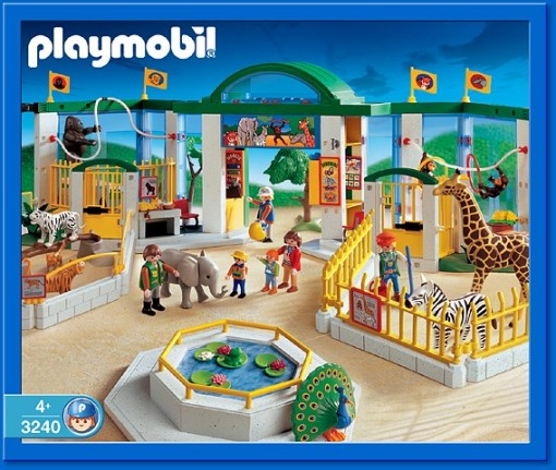 Playmobil sets, like the zoo collection, not only have long play value, but are also expandable.